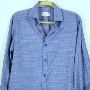 Robert Graham Blue Work Shirt